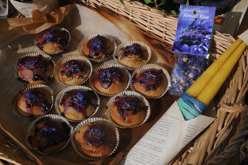 muffin al fiordaliso